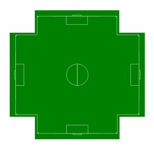 Image result for four-way soccer
