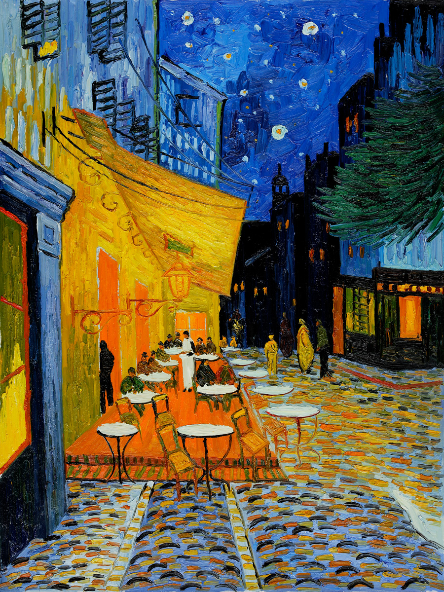 Night terrace van gogh for Terrace night
