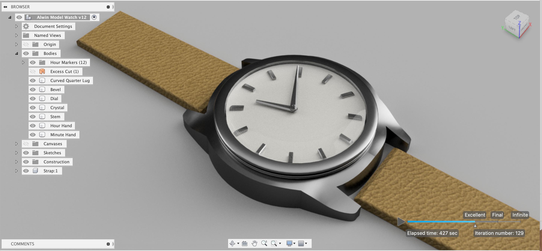 Watch Design - Alwin